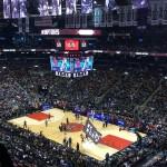 NBA zápas v Toronte