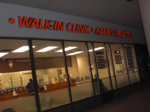 Walk in clinic Canada