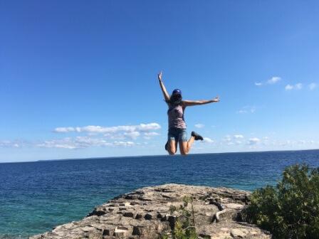 Výlet v okolí Toronta : Tobermory