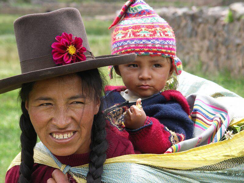 Zlatá rybka v Peru - Mama a dieťa