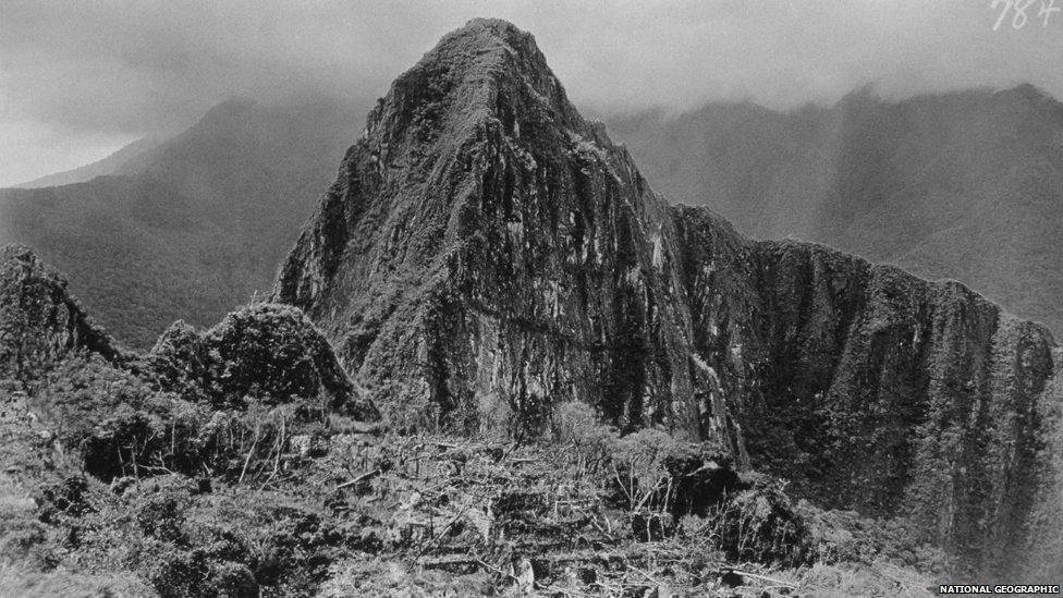 Prva fotka Machu Picchu