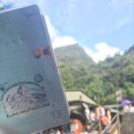 Machu Picchu pečiatka v pase