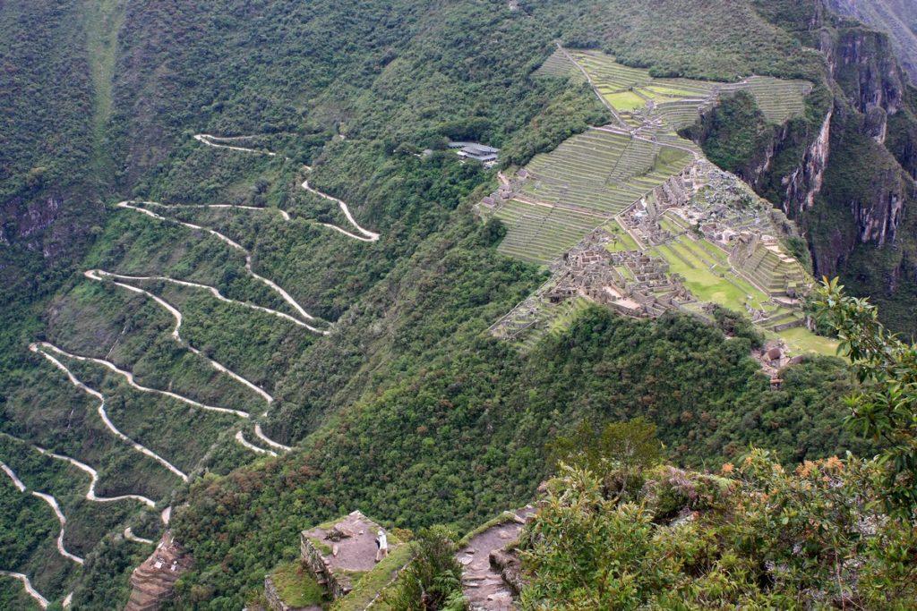 Cesta autobusom na Machu Picchu