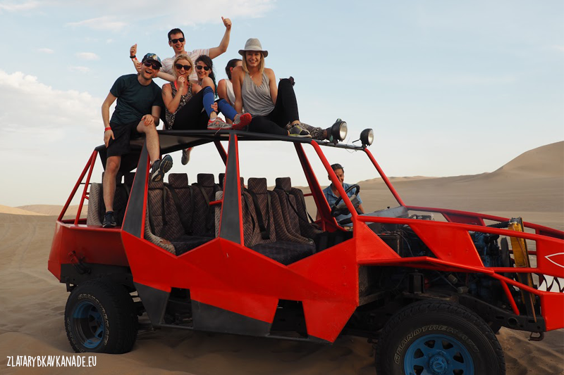 Púštne duny v Peru