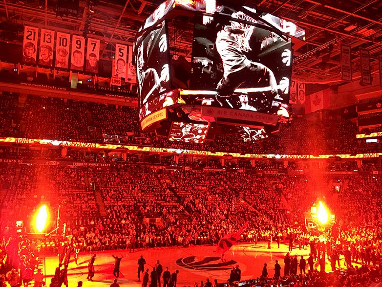 NBA Raptors game