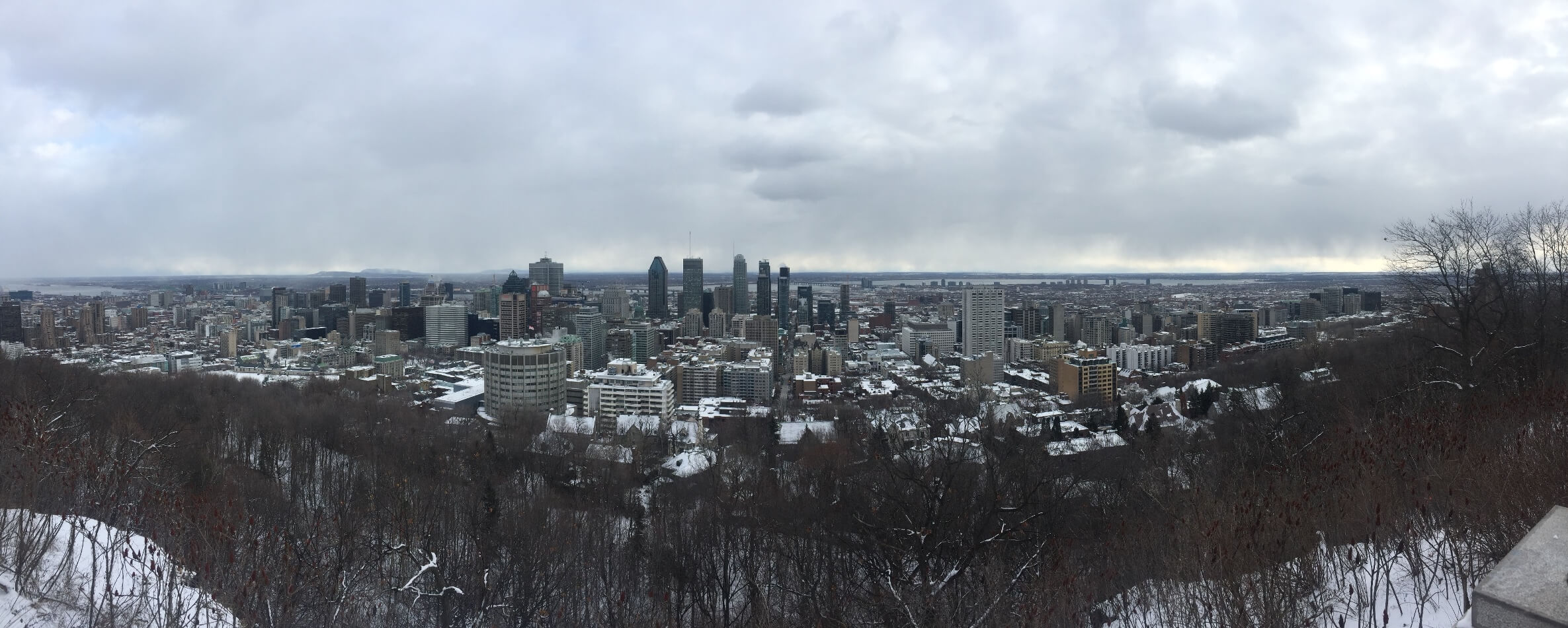 Montreal view visit