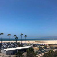 Los Angeles vylet plaz Santa Monika