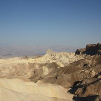 Dovolenka Death Valley kempovanie