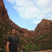 Zion Canyon USA dovolenka zapadne pobrezie